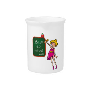 BACK TO SCHOOL DRINK PITCHER