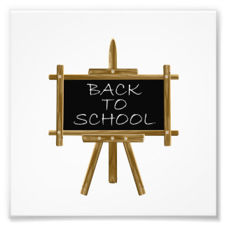 Back to school easel board art photo