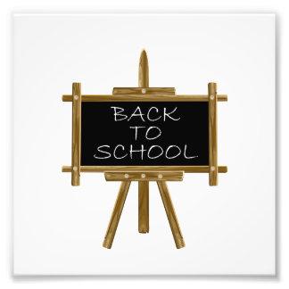 Back to school easel board art photo