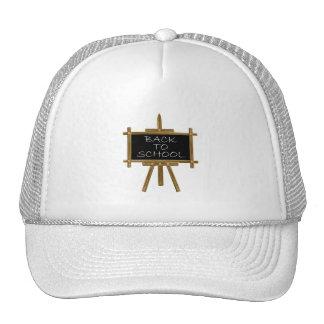Back to school easel board cap