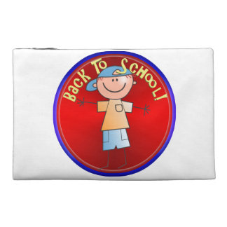 Back To School - Happy Boy (2) Travel Accessory Bags