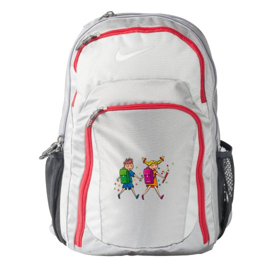 Back to school kids, image, backpack