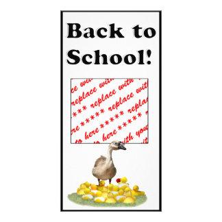 Back To School, Little Duckies! Photo Card