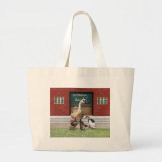 Back to School, Little Ducks! Canvas Bag