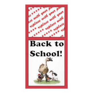 Back To School, Little Ducks! Photo Cards