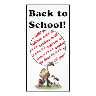 Back To School, Little Ducks! Picture Card