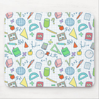 Back to school: math mousepad