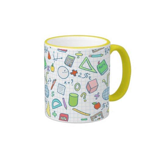Back to school: math mug