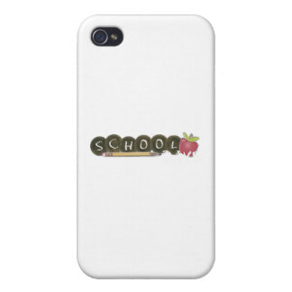 Back to school-pencils iPhone 4/4S cases
