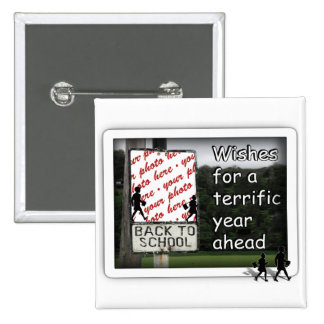 Back to School Photo Frame Pin