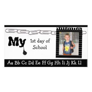 Back to school photocard custom photo card