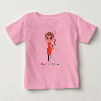 BACK TO SCHOOL PINK t-shirt with Teacher