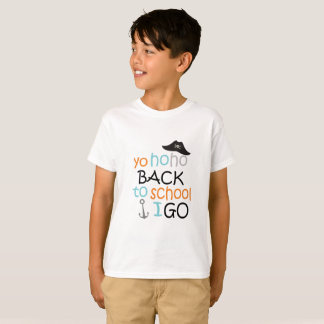 Back to school Pirate T-Shirt