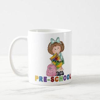 Back To School Preschool Gift For Girl Coffee Mugs