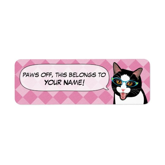 Back to School Student Name Supplies Labels