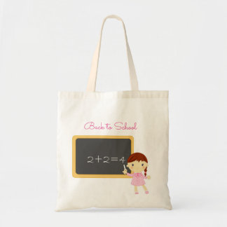 back to school teacher tote bag