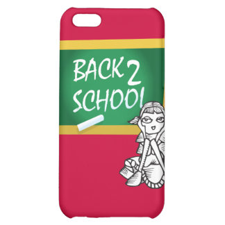 Back to School Tech Case Cover For iPhone 5C