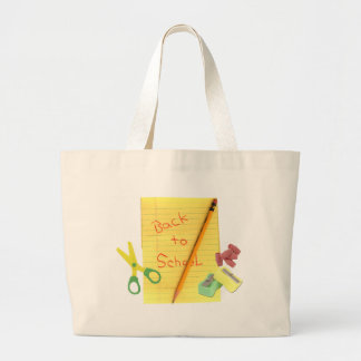 Back-to-School Jumbo Tote Bag