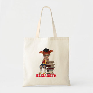 Back to School Tote BAG with student