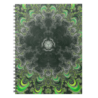 Back To School Trippy Fractal Notebook