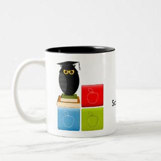 Back to School Two-Tone Coffee Mug