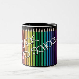 Back To School Two-Tone Mug