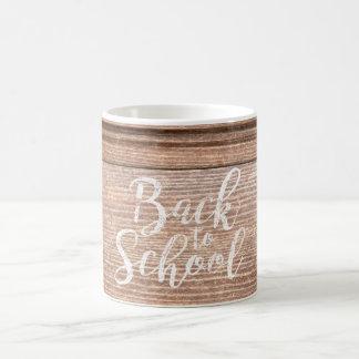 Back To School Vintage School Desk Top Coffee Mug