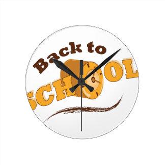 Back To School Wallclock