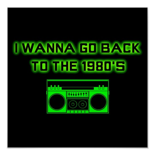 Back to the 1980's - POSTER (small)