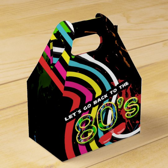 BACK TO THE 80'S Grunge Party Retro Favour