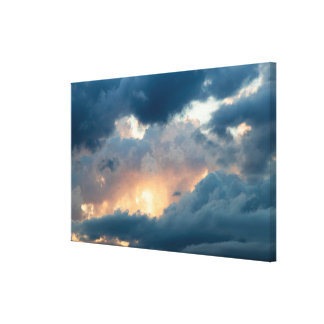 back to the early show canvas print