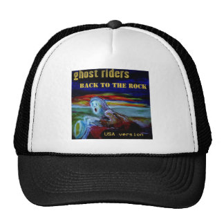 back to the rock USA cover tshirt1 Cap