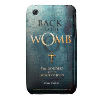 BACK TO THE WOMB™ - Logo - iPhone 3G/3GS Case iPhone 3 Cover