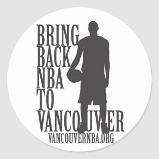 Back to Vancouver Sticker