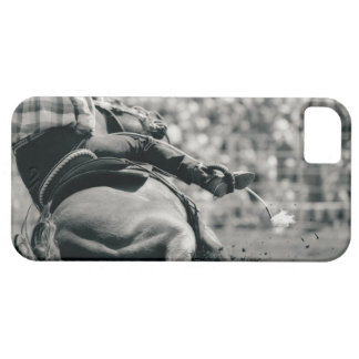 Back view of barreling racing iPhone 5 covers