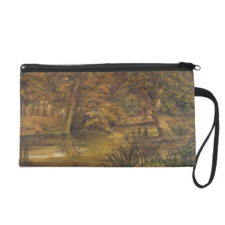 Back Water of the Bratford, 1864 (w/c and pencil o Wristlet Clutches