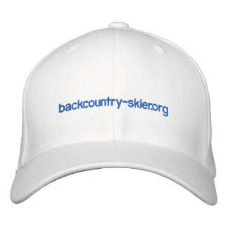 backcountry-skier.org hat 2.0 embroidered hats