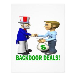 Backdoor Deals Flyer Design