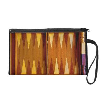 Backgammon Board Design Wristlet