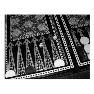 Backgammon Board Postcard