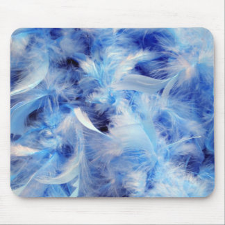 background-14469  background blue feathers fluffy mouse pads