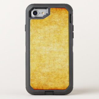Background - antique colored 1 grunge + your ideas OtterBox defender iPhone 8/7 case