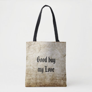 Background - antique colored 2 grunge + your ideas tote bag