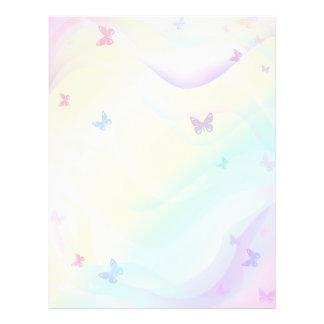Background Butterflies 21.5 Cm X 28 Cm Flyer