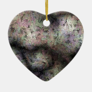 Background Ceramic Heart Decoration