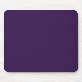 Background Color - Aubergine Mouse Pad