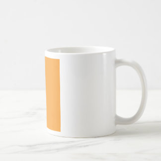 Background Color - Orange Coffee Mug