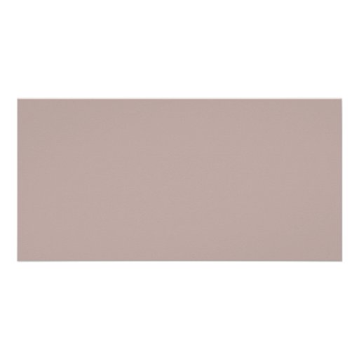 Background Color - Taupe Photo Cards