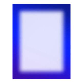 Background deep blue Color 21.5 Cm X 28 Cm Flyer