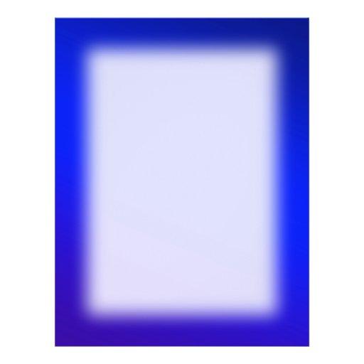Background deep blue Color Flyer